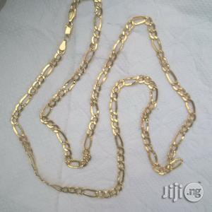 Tested 18krt Pure Gold Coke Design Long Length   Jewelry for sale in Lagos State, Lagos Island (Eko)
