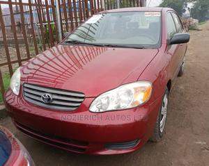 Toyota Corolla 2004 1.4 D Automatic Red   Cars for sale in Lagos State, Isolo