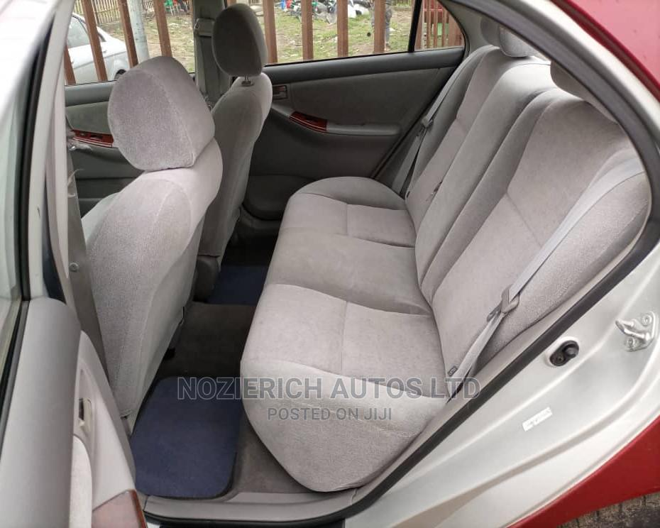 Toyota Corolla 2004 1.4 D Automatic Red | Cars for sale in Isolo, Lagos State, Nigeria