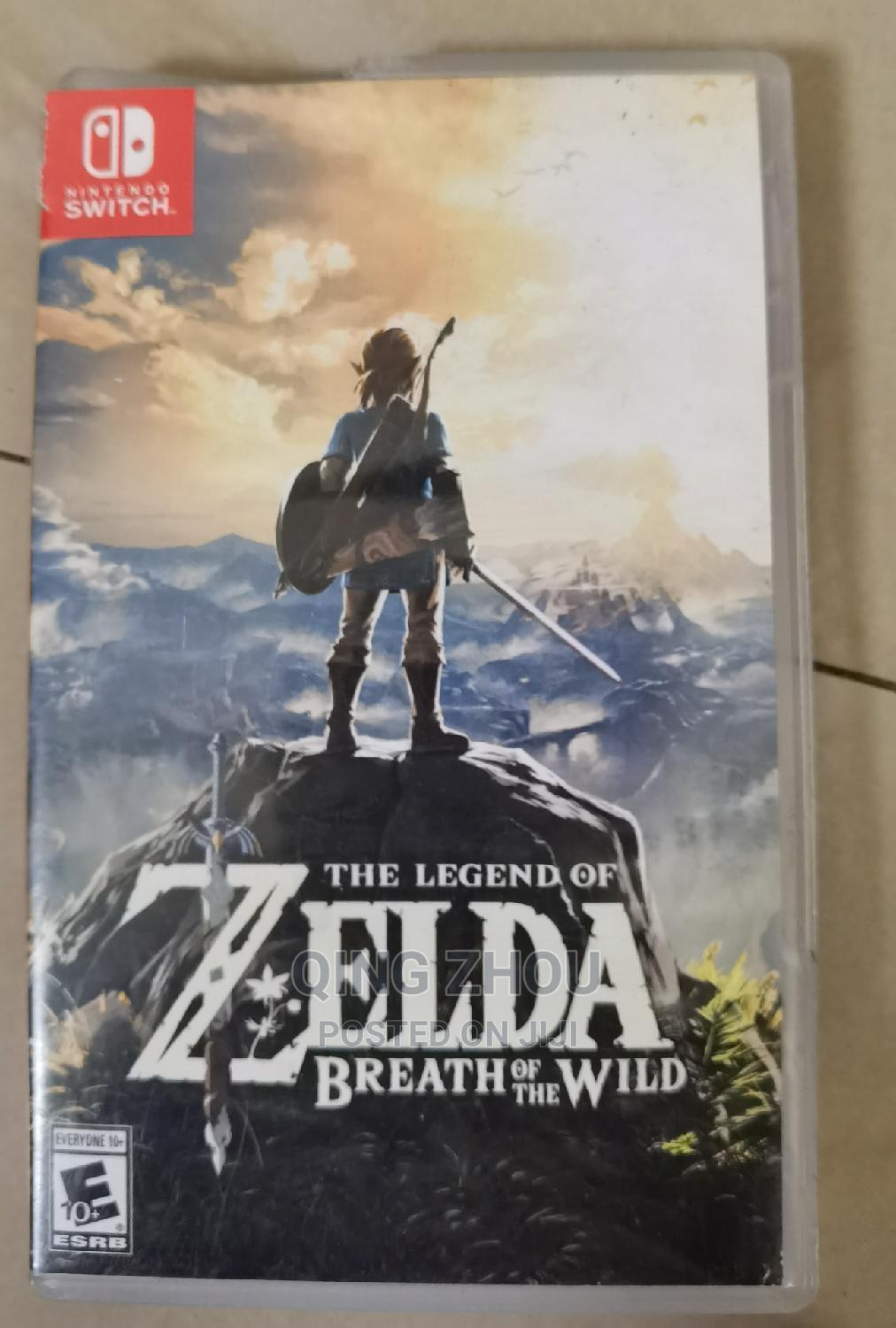 Archive: The Legend of Zelda Breath of the Wild : NS