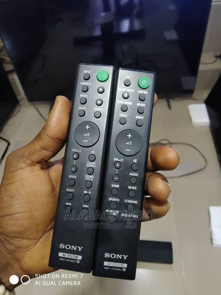 Sony Soundbar Original Remote   Accessories & Supplies for Electronics for sale in Ojo, Lagos State, Nigeria