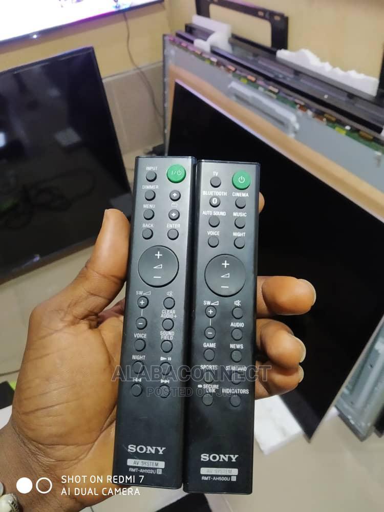 Sony Soundbar Original Remote