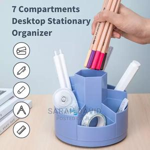 Rotating Stationery Pen Holder | Stationery for sale in Abuja (FCT) State, Wuse