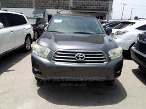 Toyota Highlander 2008 Limited 4x4 Gray | Cars for sale in Lagos State, Apapa