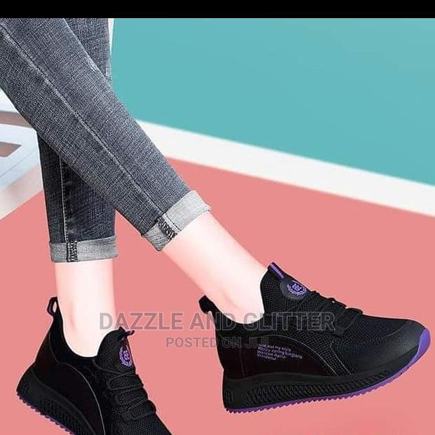 Black Sneakers | Shoes for sale in Alimosho, Lagos State, Nigeria