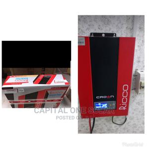 High Quality Ricco Crown Inverter Hybrid 2.4kva 24volts   Solar Energy for sale in Lagos State, Ojo