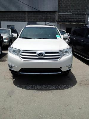 Toyota Highlander 2012 Limited White | Cars for sale in Lagos State, Apapa