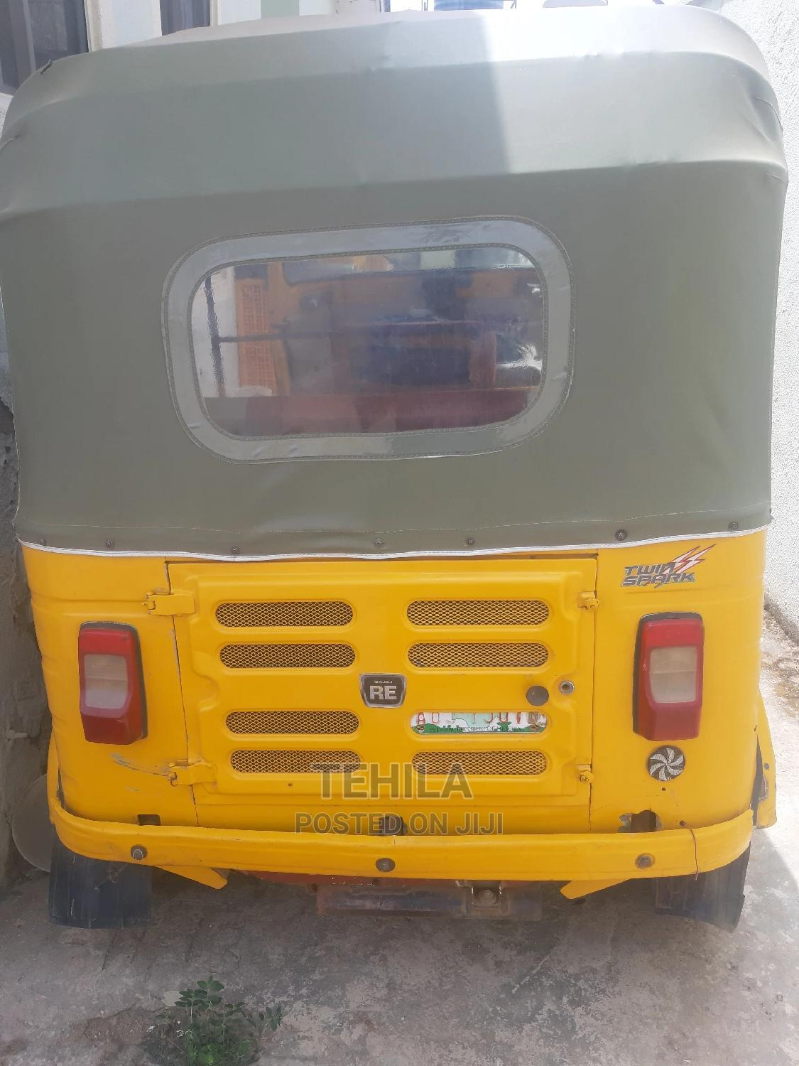 Bajaj RE 2018 Yellow | Motorcycles & Scooters for sale in Kubwa, Abuja (FCT) State, Nigeria