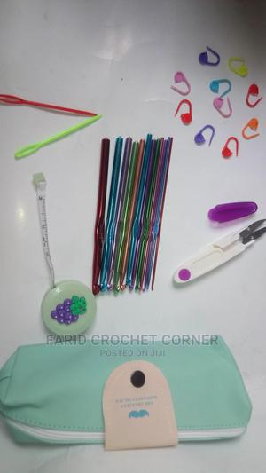 Aluminium Crochet Hook Set   Arts & Crafts for sale in Rivers State, Port-Harcourt