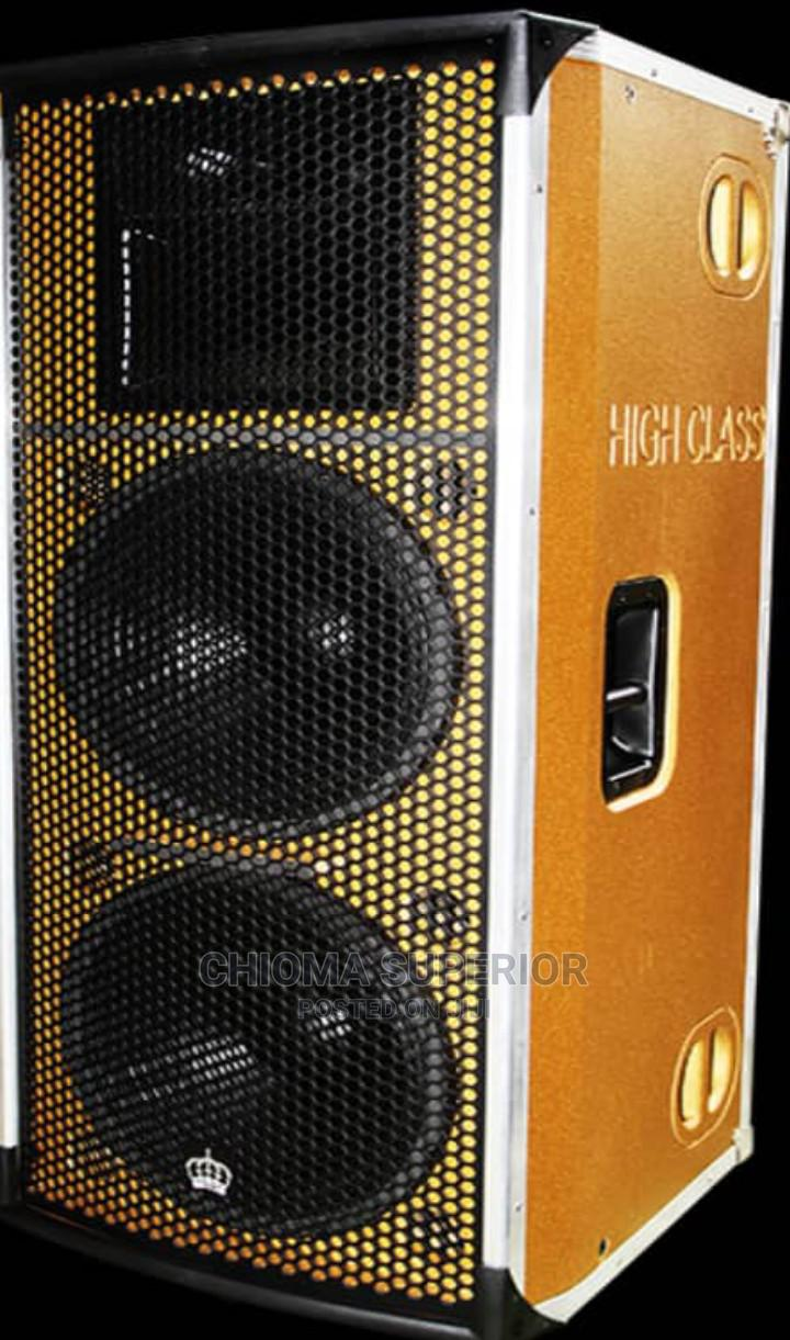 "High Class Double 15"" Speaker"