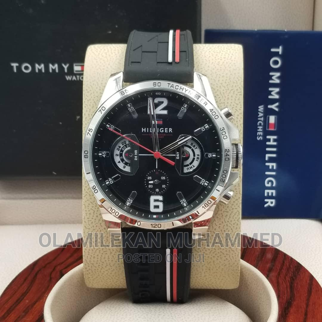 Tommy Hilfiger Rubber Watch