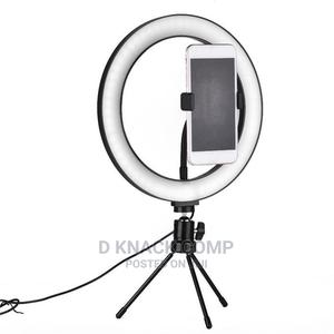 10inchs LED Selfie Ring Light Camera Phone   Accessories & Supplies for Electronics for sale in Lagos State, Ikotun/Igando