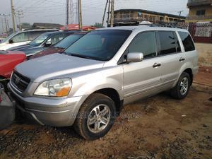 Honda Pilot 2003 EX 4x4 (3.5L 6cyl 5A) Silver | Cars for sale in Lagos State, Ikorodu