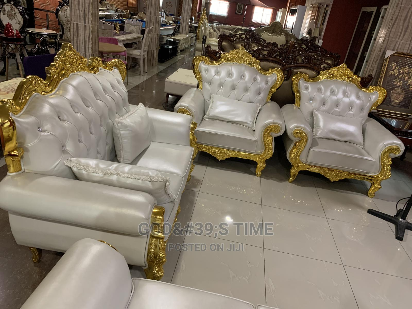 Executive Royal Pure Italian Leather Sofa Chair
