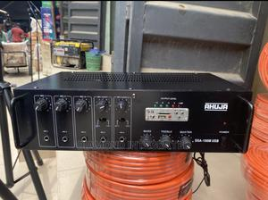 100 Watts Ahuja Amplifier With 5 Mic Input   Audio & Music Equipment for sale in Lagos State, Ojo