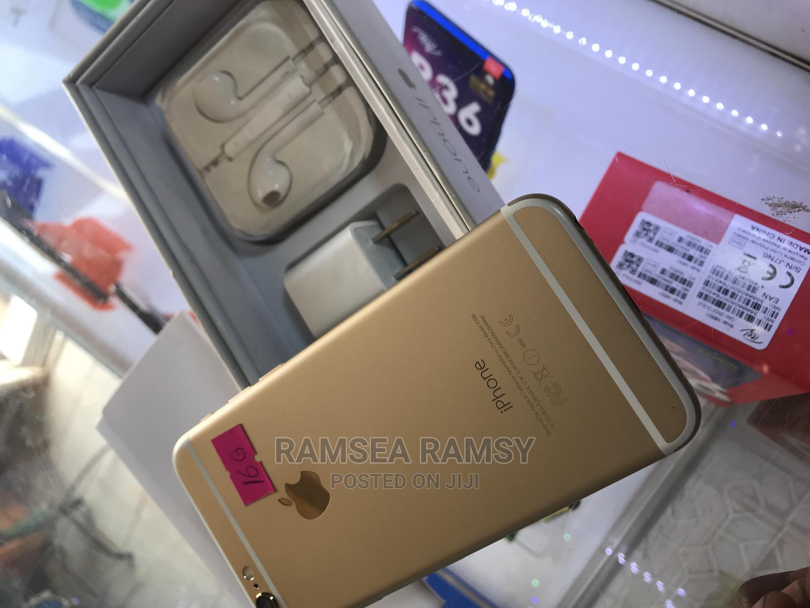 New Apple iPhone 6 16 GB Gold