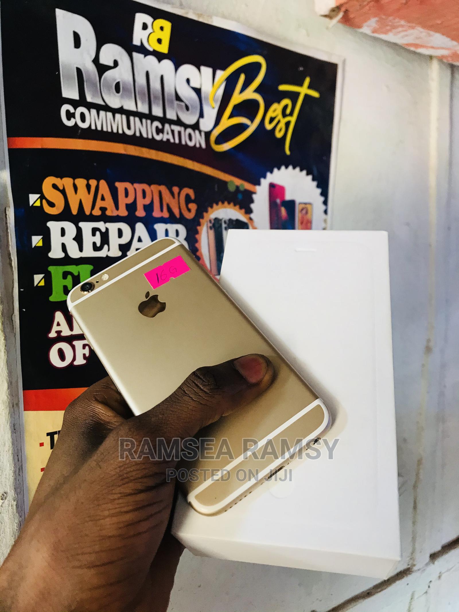New Apple iPhone 6 16 GB Gold | Mobile Phones for sale in Lokoja, Kogi State, Nigeria