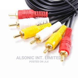 20m Av Cables 3rca To Rca Audio Video   Accessories & Supplies for Electronics for sale in Abuja (FCT) State, Wuse