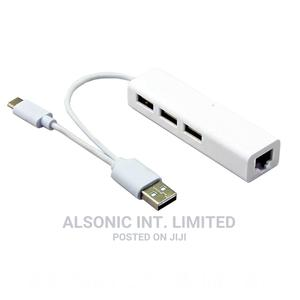 USB Type C Adapter Ethernet Network LAN Card With Typc C USB | Computer Accessories  for sale in Abuja (FCT) State, Wuse