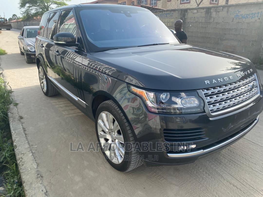 Land Rover Range Rover Sport 2017 HSE 4x4 (3.0L 6cyl 8A) Black
