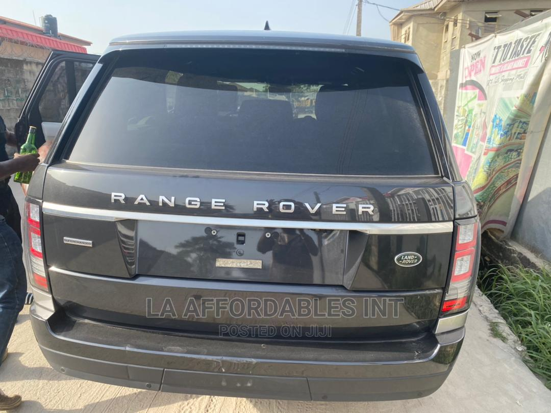 Land Rover Range Rover Sport 2017 HSE 4x4 (3.0L 6cyl 8A) Black | Cars for sale in Lekki, Lagos State, Nigeria