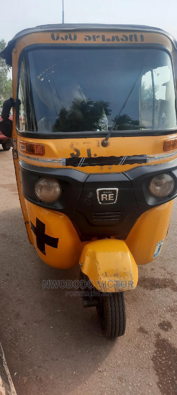 Bajaj RE 2020 Yellow
