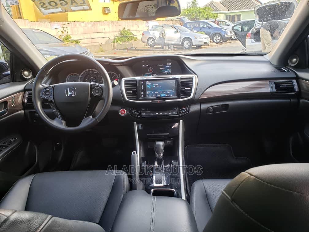 Honda Accord 2017 Black   Cars for sale in Surulere, Lagos State, Nigeria