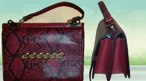 Red Croc Skin Mini Handbag With Chain Details | Bags for sale in Lagos State, Ikotun/Igando