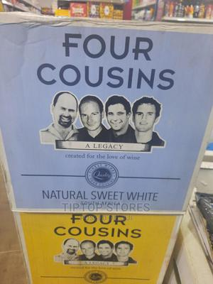 Four Cousins Natural Sweet White Wine Carton- 12 Pieces | Meals & Drinks for sale in Lagos State, Surulere