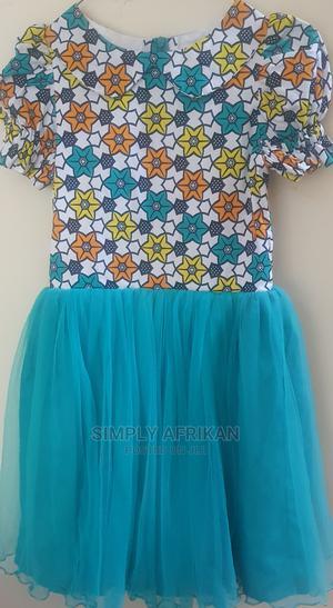 Girl's Ankara Formal Dress Age 8-9   Children's Clothing for sale in Lagos State, Lekki