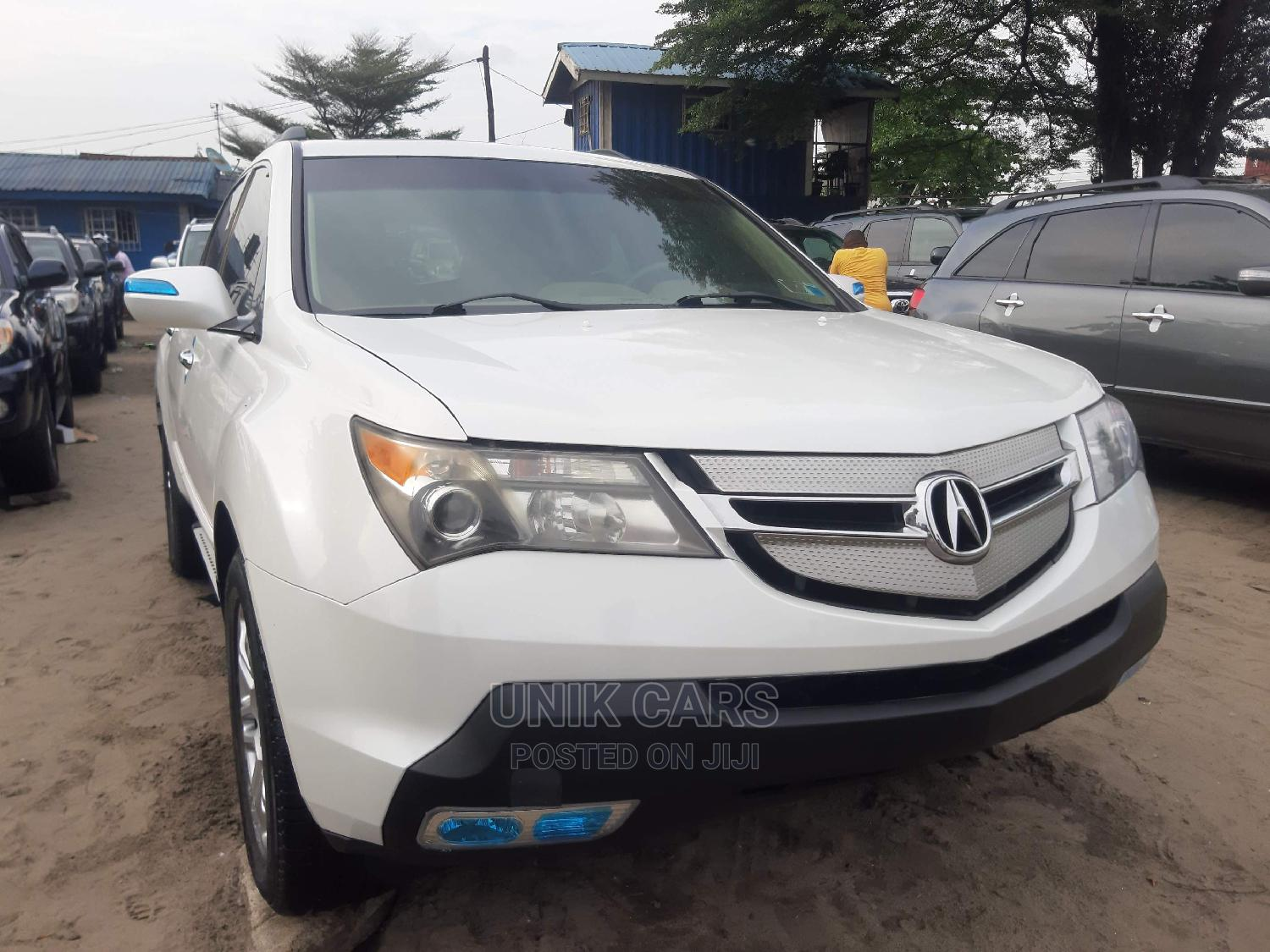 Acura MDX 2009 White | Cars for sale in Apapa, Lagos State, Nigeria