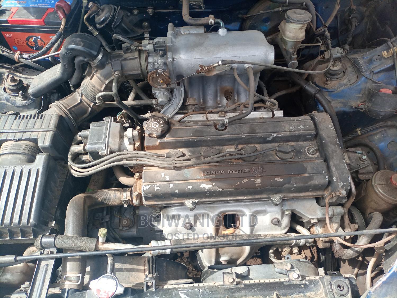 Honda CR-V 1998 2.0 Automatic Blue   Cars for sale in Gwarinpa, Abuja (FCT) State, Nigeria