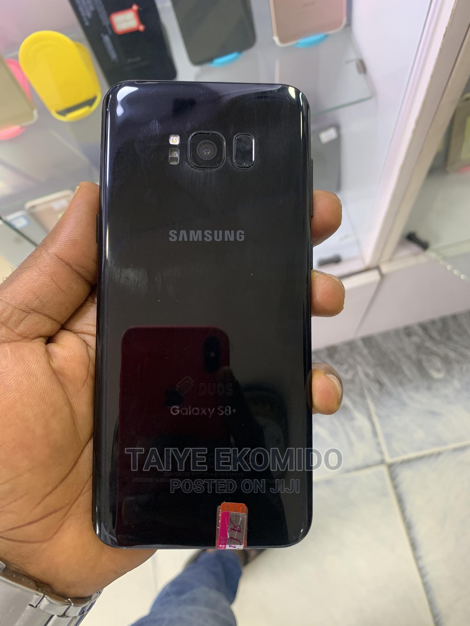 Samsung Galaxy S8 Plus 64 GB Black   Mobile Phones for sale in Warri, Delta State, Nigeria