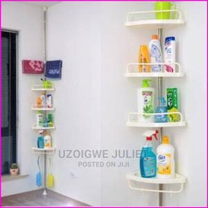 Wall Mounted Bathroom Corner Shelf Sucker Suction | Home Accessories for sale in Abuja (FCT) State, Central Business Dis