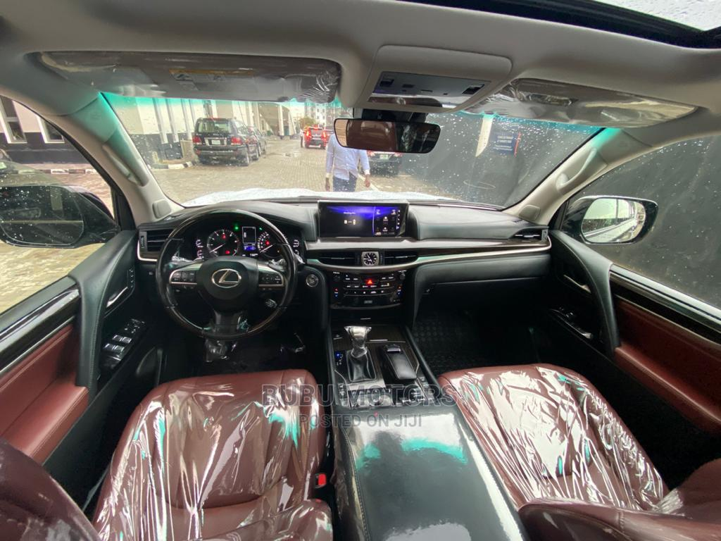 Lexus LX 2020 570 Three-Row Black   Cars for sale in Ikeja, Lagos State, Nigeria