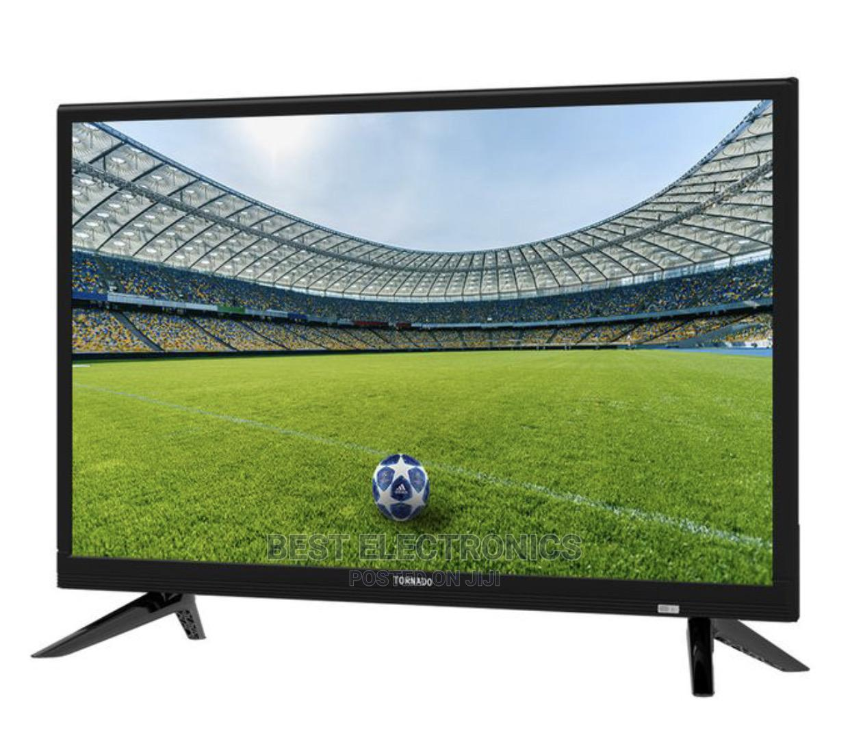 Tornado LED TV 24 Inch HD With 2 HDMI and 2 USB Inputs