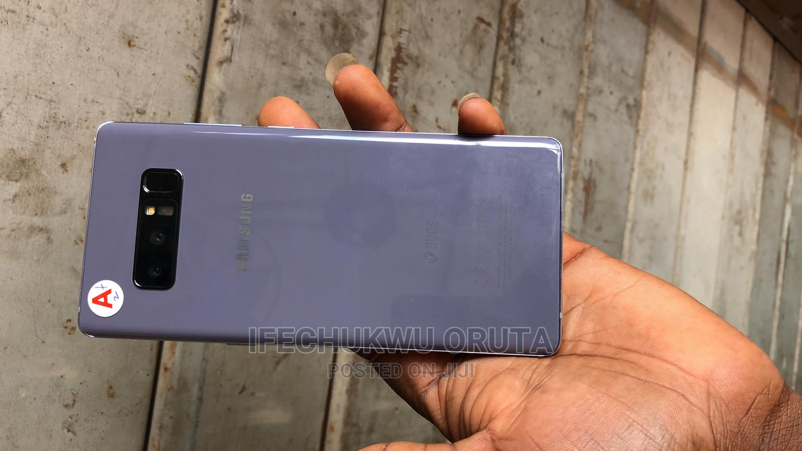 Samsung Galaxy Note 8 128 GB Black | Mobile Phones for sale in Ikeja, Lagos State, Nigeria