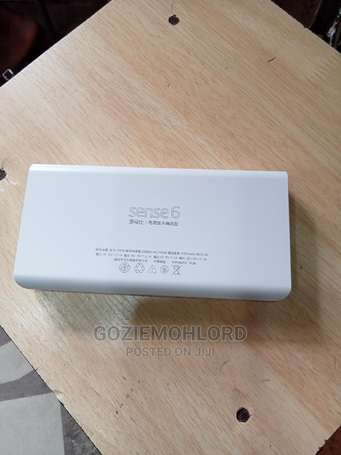 Complete 20000mah Romoss Powerbank | Accessories for Mobile Phones & Tablets for sale in Ojo, Lagos State, Nigeria