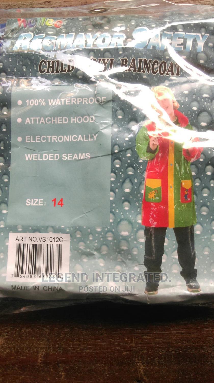 Children's Rain Coat.