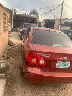 Toyota Corolla 2005 Red   Cars for sale in Lagos State, Surulere