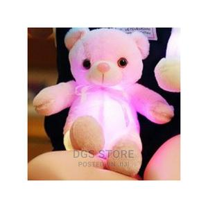 30cm Light Up LED Teddy Bear Plush Toy Doll- Pink   Toys for sale in Lagos State, Ikeja