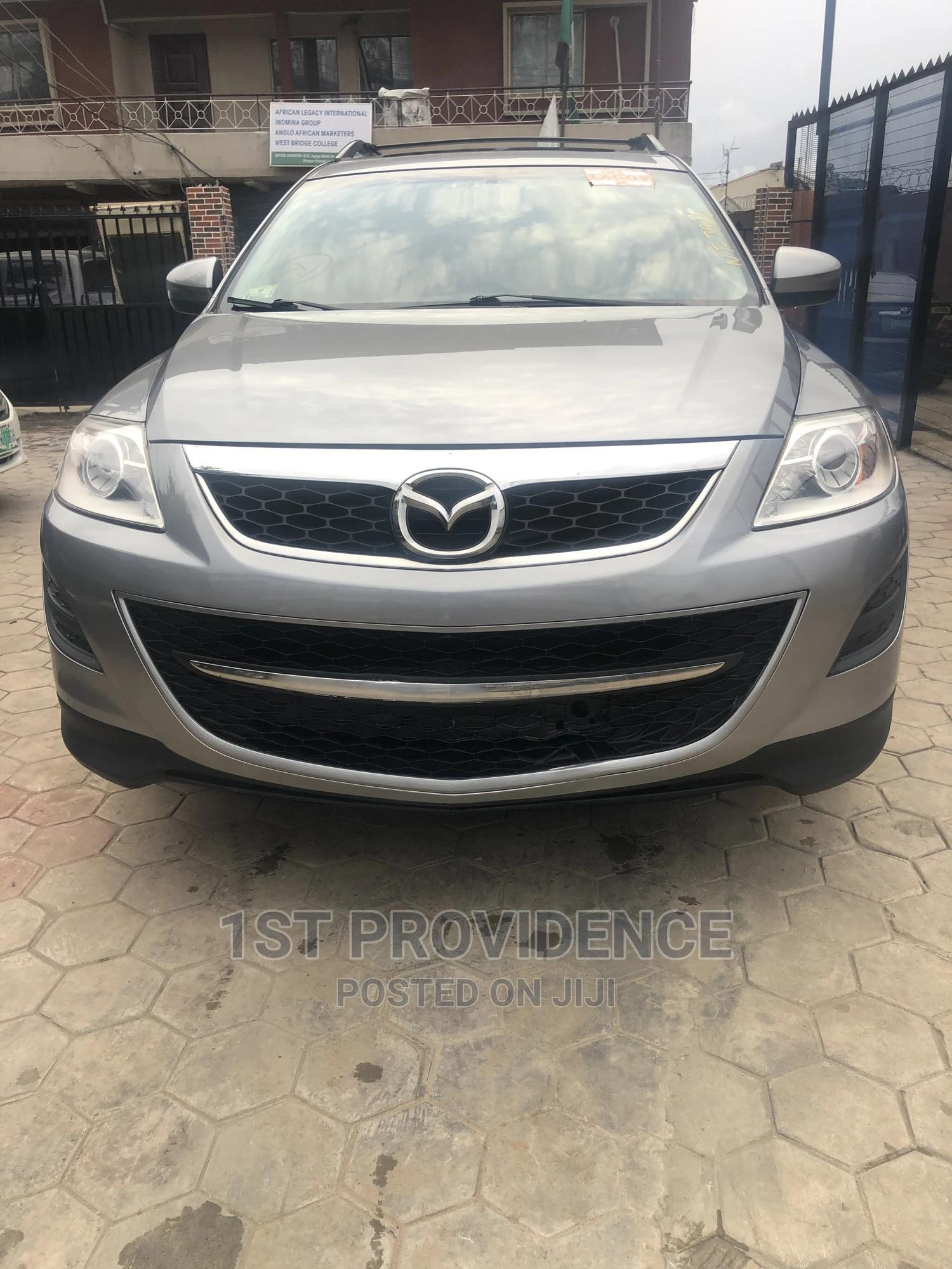 Mazda CX-9 2012 Grand Touring Gray | Cars for sale in Ikeja, Lagos State, Nigeria