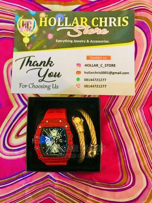 Men's Fashion Wristwatch With Bracelet | Watches for sale in Ogun State, Ado-Odo/Ota