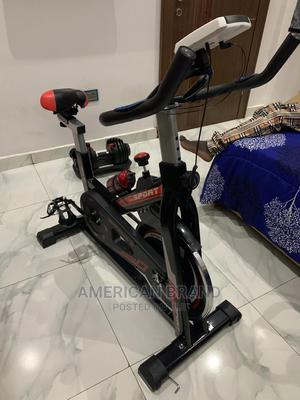 Standard Spinning Bike Brand New | Sports Equipment for sale in Lagos State, Badagry