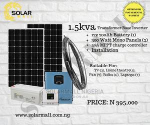1.5KVA SOLAR Inverter Solution (Installment Payment Option)   Solar Energy for sale in Lagos State, Alimosho