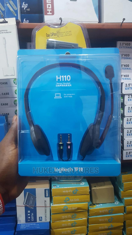 Logitech H110 Headset | Headphones for sale in Ikeja, Lagos State, Nigeria