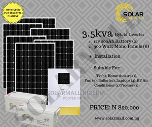 3.5kva Hybrid Inverter Installation   Solar Energy for sale in Lagos State, Alimosho