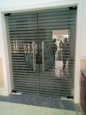 Swing Double Glass Door | Doors for sale in Abuja (FCT) State, Garki 1