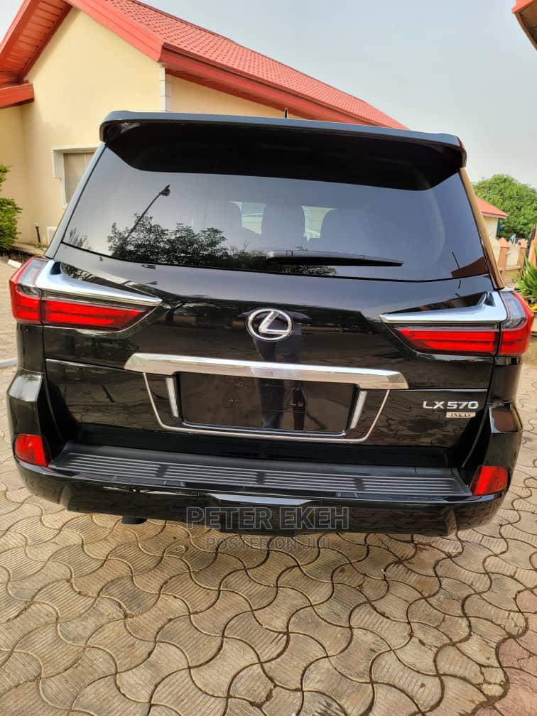 New Lexus LX 2021 Black | Cars for sale in Central Business Dis, Abuja (FCT) State, Nigeria