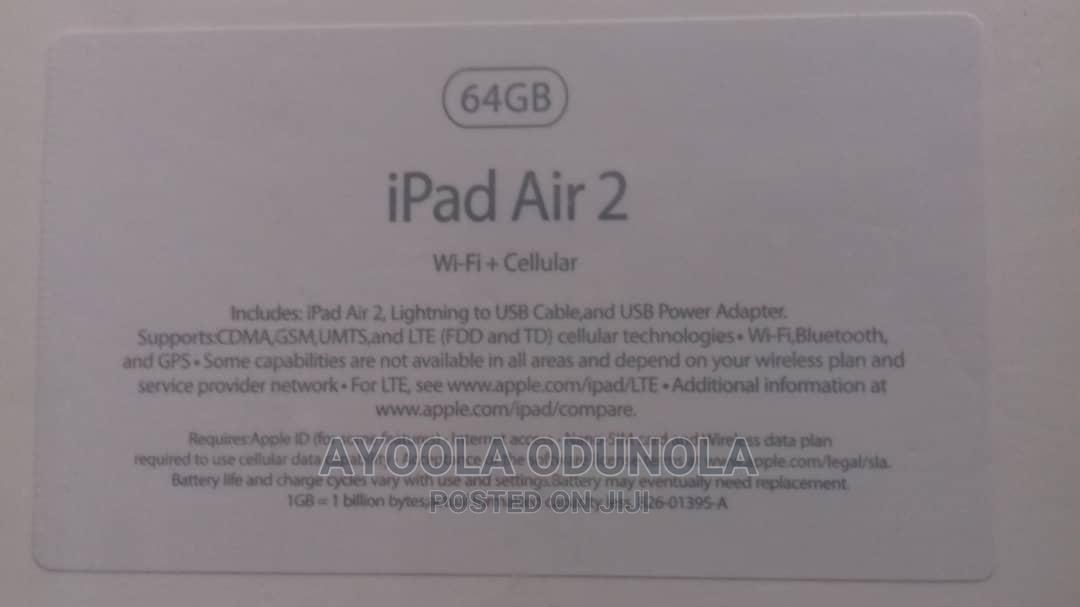 Archive: New Apple iPad Air 2 64 GB